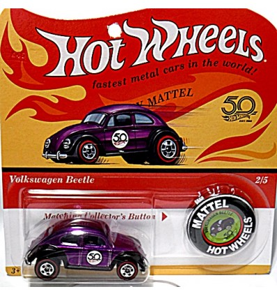 Hot Wheels 50th Anniversary Series - Volkswagen Beetle