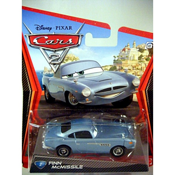 Disney Cars Finn Mcmissile Aston Martin Global Diecast Direct