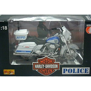 Maisto NYPD Harley-Davidson Police Electraglide