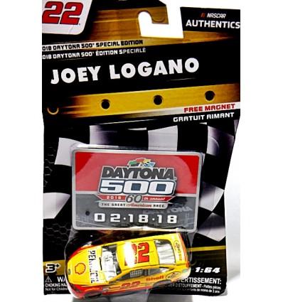 NASCAR Authentics - Joe Gibbs Racing - Joey Logano Daytona 500 Shell Pennzoil Ford Fusion