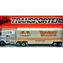 Matchbox NASCAR SuperStars - Cale Yarborough Pontiac Hardees Racing Kenworth Conventional Transporter