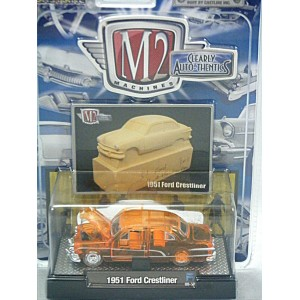 M2 Machines Clearly Auto-Thentics 1951 Ford Crestliner