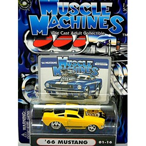 Muscle Machines Ford Mustang Fastback - No Flames