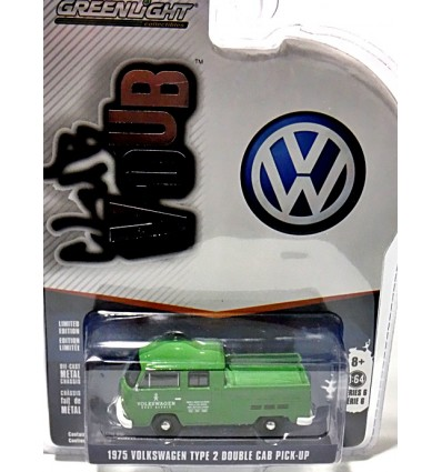 Greenlight - Club V-Dub - 1975 Volkswagen Type 2 Double Cab Body Shop Pickup Truck