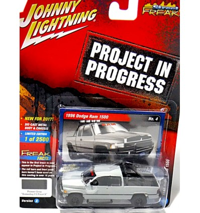 Johnny Lightning Projects in Progress - 1996 Dodge RAM 5000 Pickup Truck