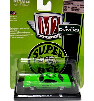 M2 Machines Drivers - 1970 Dodge Super Bee