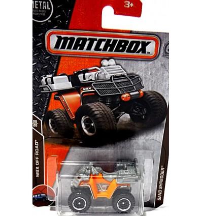 Matchbox - Sand Shredder ATV Quad Motorcycle