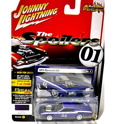 Johnny Lightning Spoilers 1971 Plymouth GTX