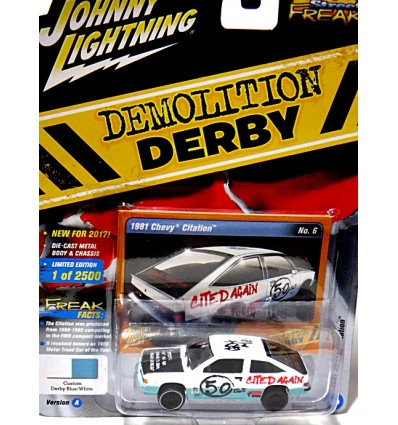 Johnny Lightning Street Freaks - Demolition Derby - 1981 Chevrolet Citation