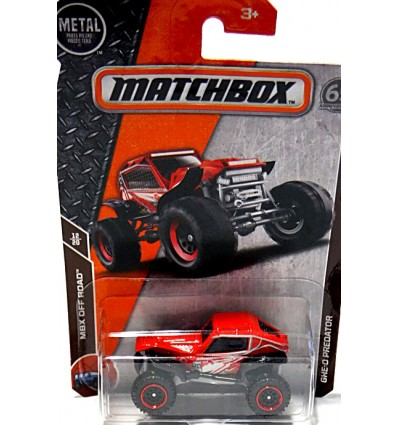 Matchbox - GHE-O Predator Off-Road Buggy