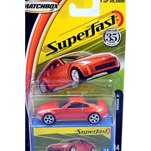 Matchbox 35th Anniversary Superfast - Nissan Z