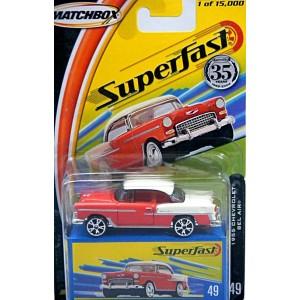 Matchbox 35th Anniversary Superfast -1955 Chevrolet Belair