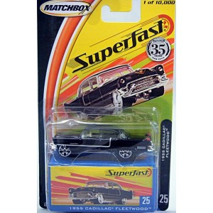 Matchbox 35th Anniversary Superfast - 1955 Cadillac Fleetwood