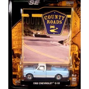 Greenlight County Roads 1968 Chevrolet C-10 Pickup Truck