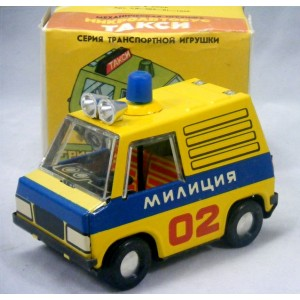 Russian (1970's) Raduga - Police Truck