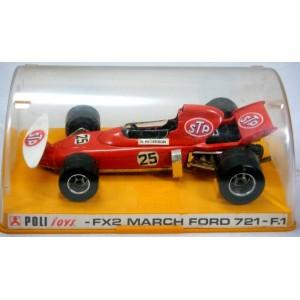 Poli Toys - FX-1 - Tyrrell Ford F1 Race Car
