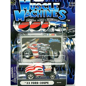 Muscle Machines Stars and Stripes 33 Ford Coupe