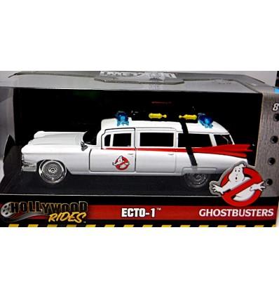 Jada - Hollywood Rides - Ghostbusters Ecto-1 Cadillac Ambulance