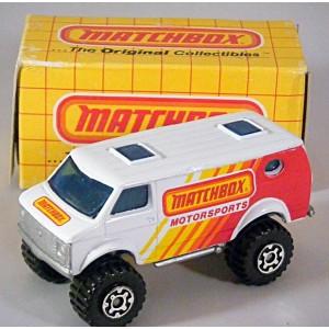 Matchbox 4x4 Chevy Van - Matchbox Motorsports