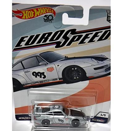Hot Wheels Car Culture - Euro Speed - Porsche 993 GT-2