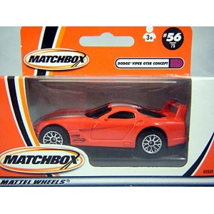 Matchbox - Dodge Viper GTS-R