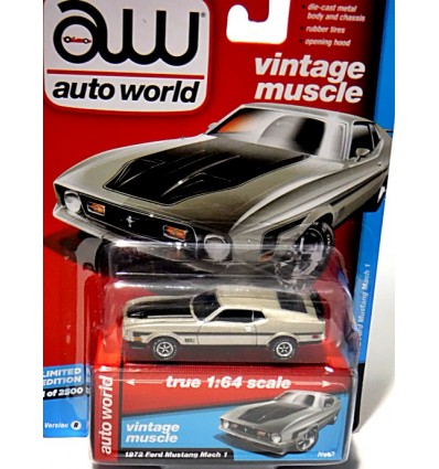 Auto World - 1972 Ford Mustang Mach 1