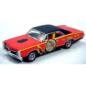 Matchbox Collectibles Coca Cola Series - 1967 Pontiac GTO