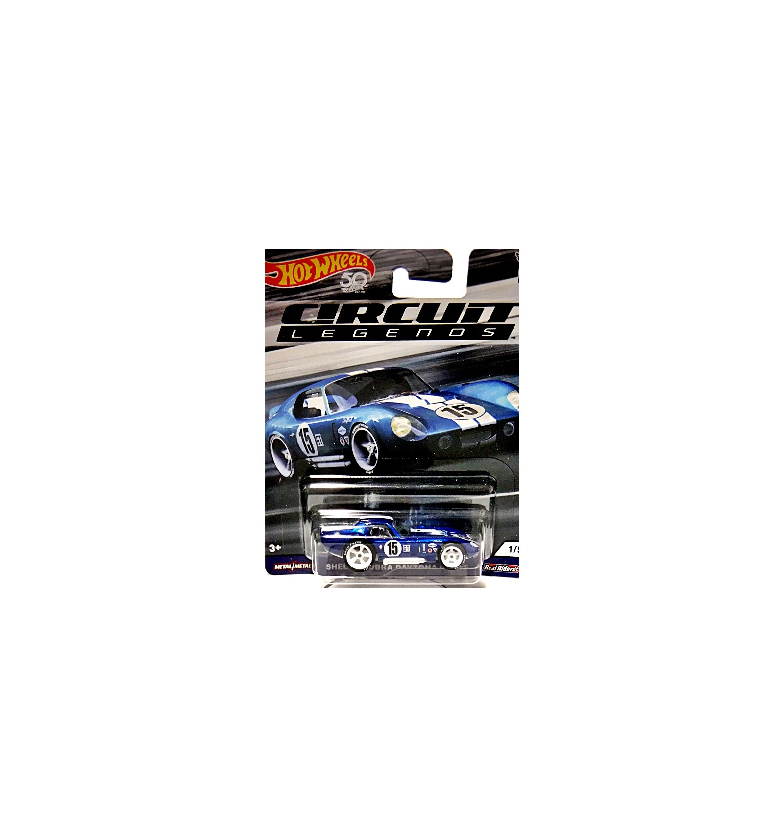 Hot Wheels Car Culture - Circuit Legends - Shelby Daytona Coupe