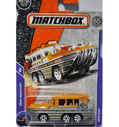 Matchbox - El Segundo Duk Boat