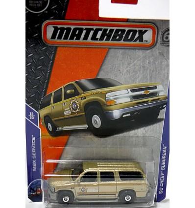 Matchbox - Chevrolet Suburban Sheriff Police Truck