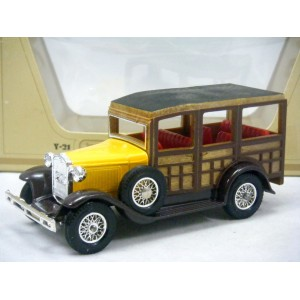 Matchbox Models of Yesteryear (Y21-3) 1927 Ford Model A Woody Station Wagon