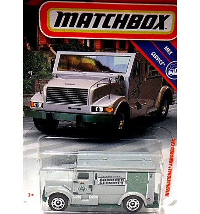 Matchbox - Armored Services Security Truck