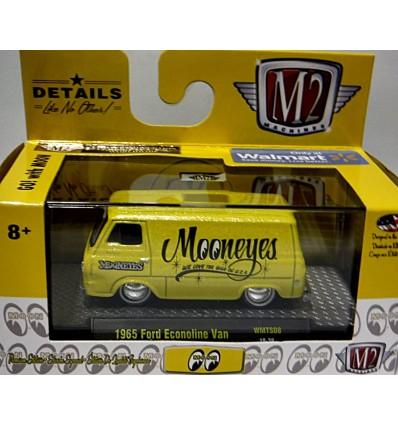 M2 Model Kits - Moon Equipped 1965 Ford Econoline Shop Van