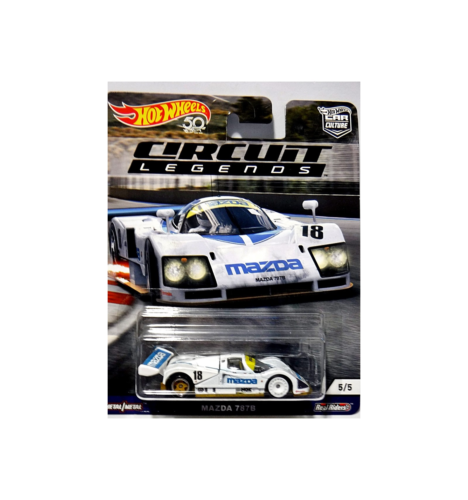Hot Wheels Car Culture Circuit Legends Mazda 787b Race Car Global Diecast Direct