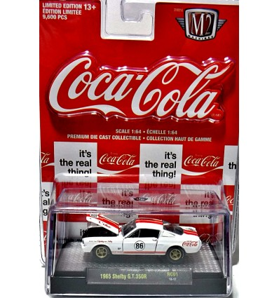 M2 Machines - Coca-Cola - 1965 Ford Mustang Shelby GT-350R
