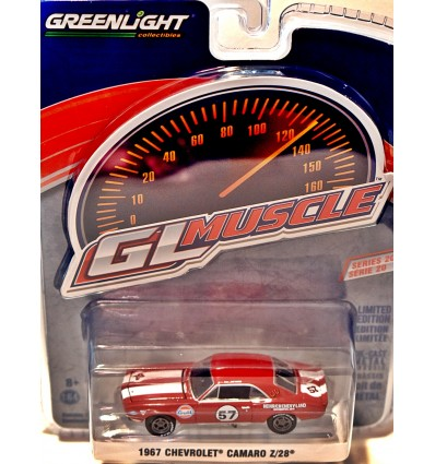 Greenlight GL Muscle 1967 Chevrolet Camaro Z28