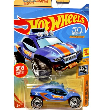 Hot Wheels 50th Anniversary Race Team - Dune Daddy - Dune Buggy