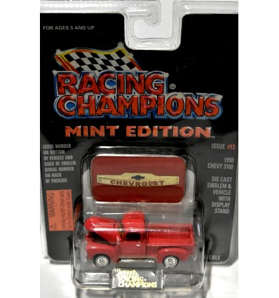 Racing Champions Mint Series -1950 Chevrolet 5 Window Pickup Truck