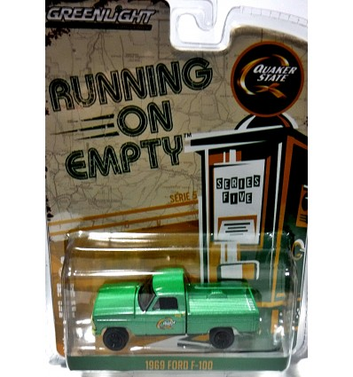 Greenlight - Running on Empty - Quaker State 1969 Ford F-100 Tow Truck
