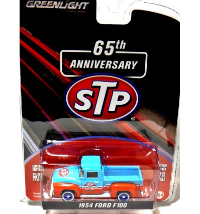 Greenlight Anniversary Series -65th Anniversary STP 1954 Ford F100 Pickup Truck