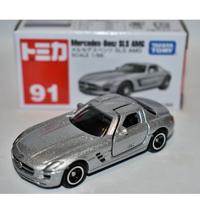 Tomica (No. 91) Mercedes-Benz SLS AMG Gullwing