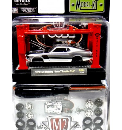 M2 Machines Model Kits - Foose Design - 1970 Ford Mustang Foose Gambler 514