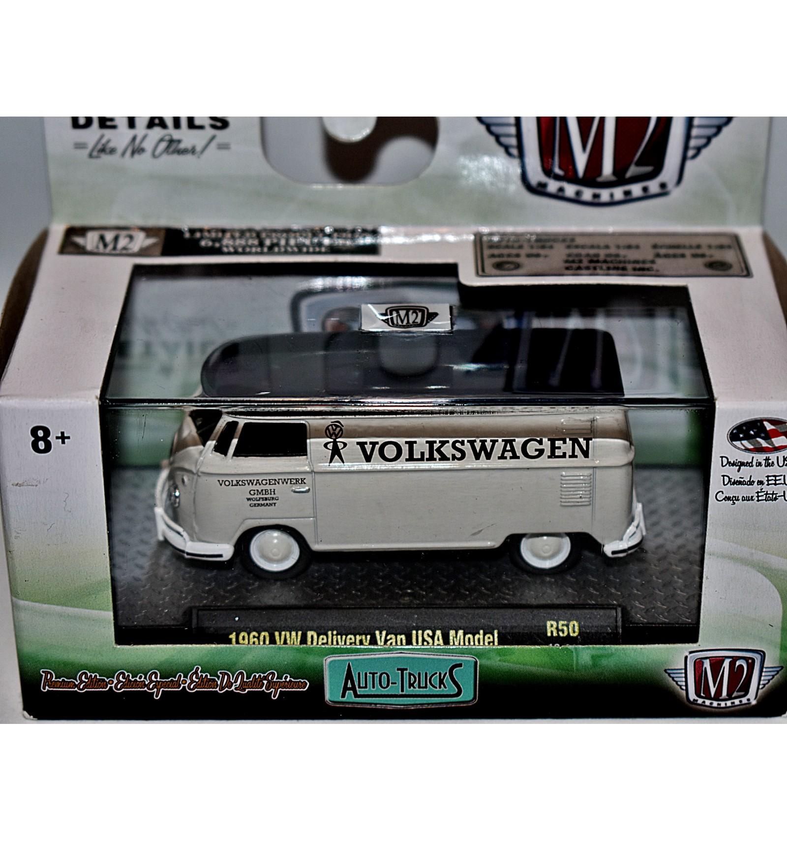 M2 Machines 1960 Volkswagen Delivery Van Truck Usa Model Global Cast Direct