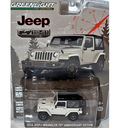 Greenlight Anniversary Series - Jeep 70th Anniversary - Jeep Wrangler