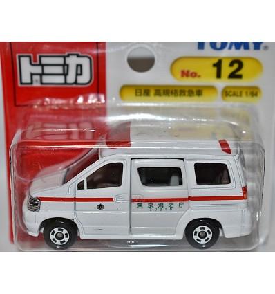 Tomica - Nissan Paramedic EMT Ambulance