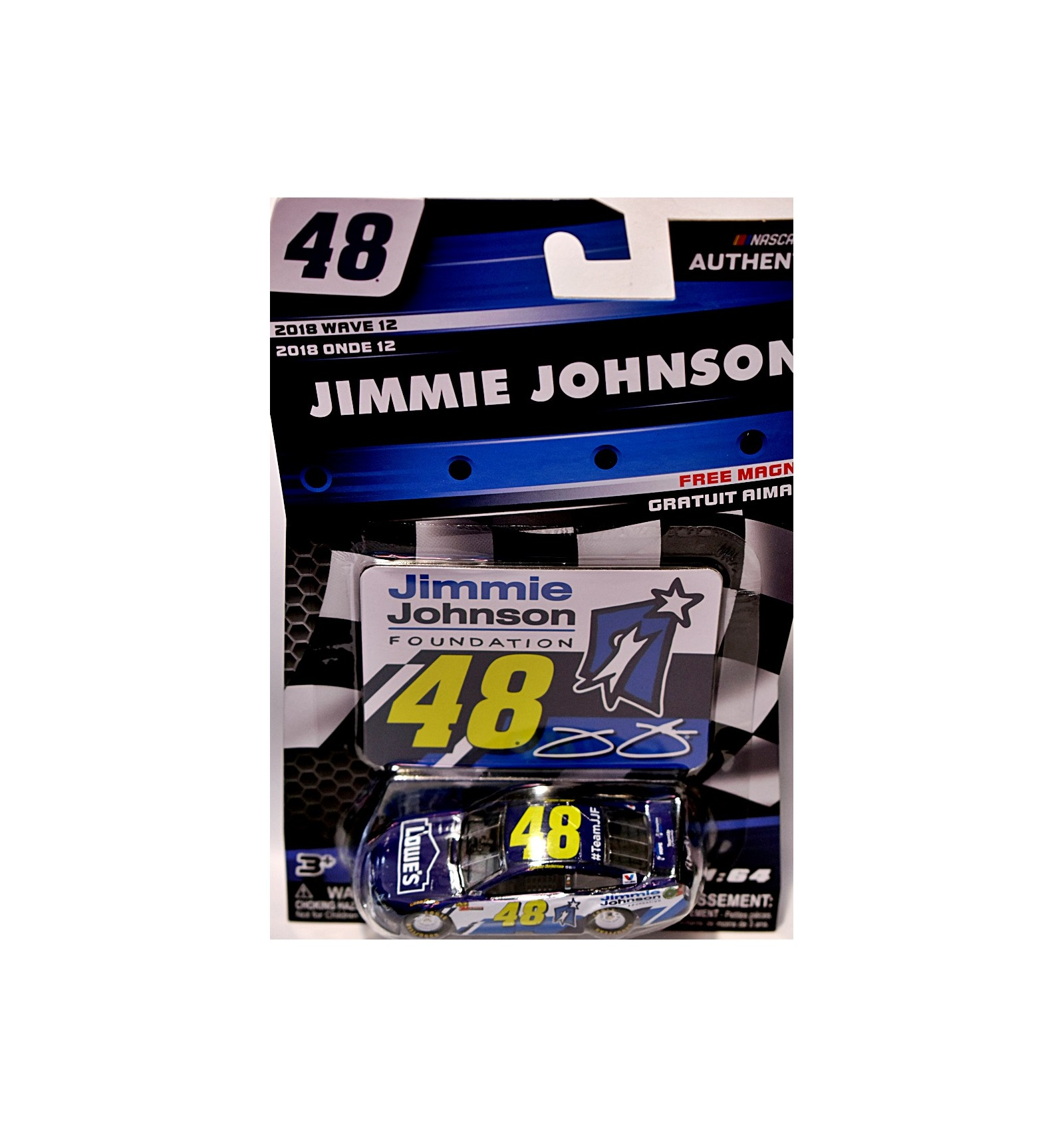 Nascar Authentics Hendrick Motorsports Jimmie Johnson Lowes Chevrolet Camaro Jimmie Johnson Foundation Global Diecast Direct