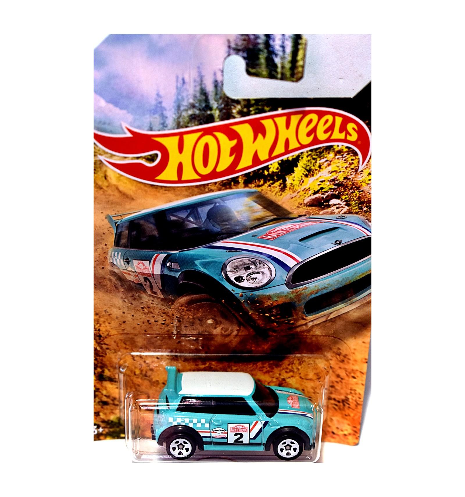 Hot Wheels Rallye Series Mini Cooper S Challenge Global Diecast
