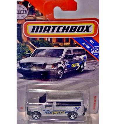 Matchbox Nissan NV Airport Shuttle Van