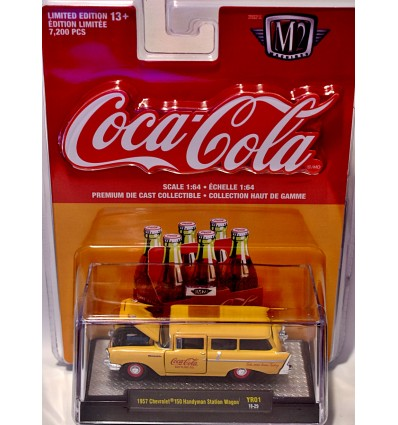M2 Machines - Coca-Cola - 1957 Chevrolet 210 Station Wagon