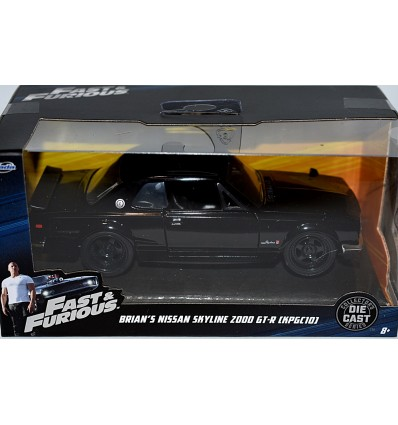 Jada - Fast & Furious - Brian's Nissan Skyline 2000 GT-R (KPGC10)